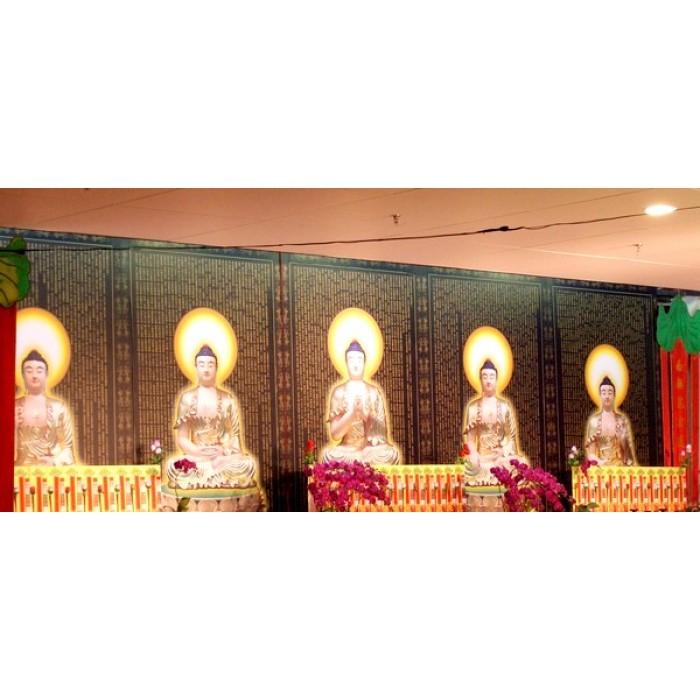 牆面貼紙-南海佛教法會