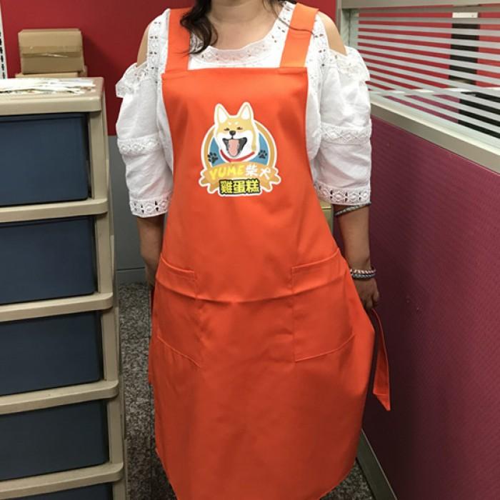 工作圍裙-柴犬雞蛋糕